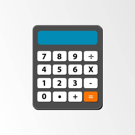 calculator Ilustrace