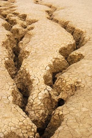 sequias: suelo arind Foto de archivo