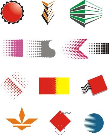 rozpraszać: Logo projektowania ilustracji wektorowych