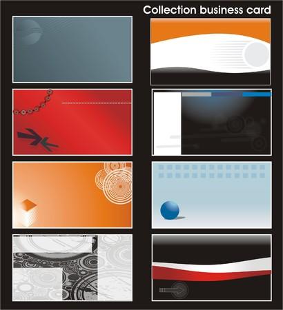 Colecci�n de plantillas de tarjetas de visita