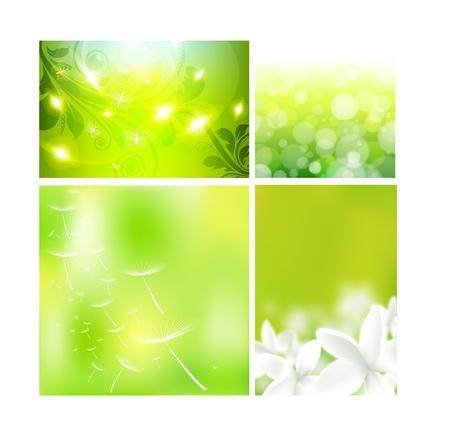 Concepto de dise�o de dise�o para los dise�os florales de verano