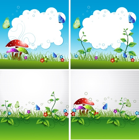 Flyer or cover design Stock Vector - 14575518