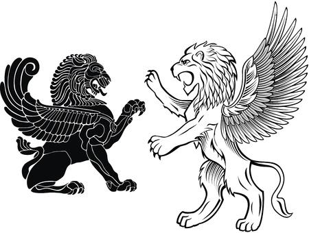crests: Permanente e Leone Alato