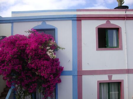 spanish houses: beautiful spanish houses in the Canary Islands Editorial