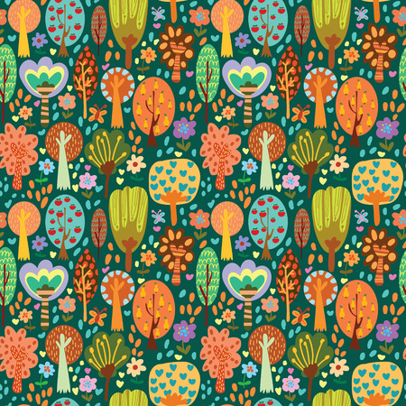 Outdoor concept seamless pattern.Seamless pattern can be used for wallpaper, pattern fills, web page backgrounds, surface textures.