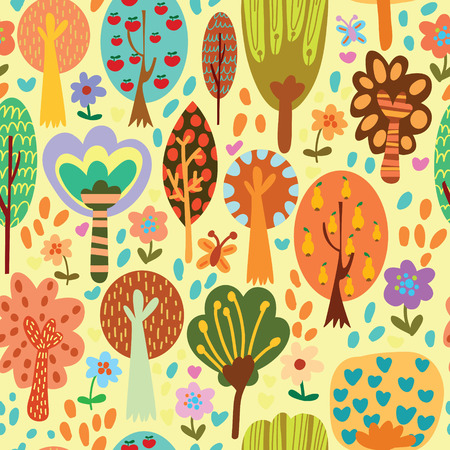 vintage patterns: Outdoor concept seamless pattern.Seamless pattern can be used for wallpaper, pattern fills, web page backgrounds, surface textures.