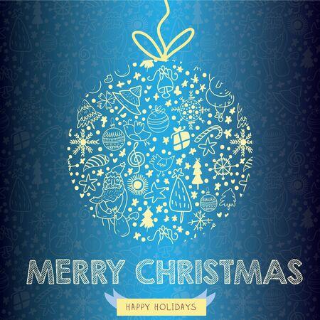 christmas card: Christmas Greeting Card (christmas card concept)
