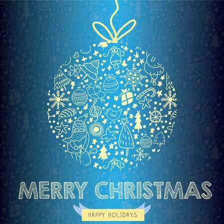 Christmas Greeting Card (christmas card concept)