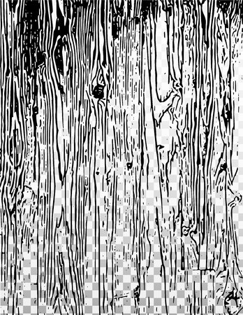 Texture with wood effect on the transparent and white background.