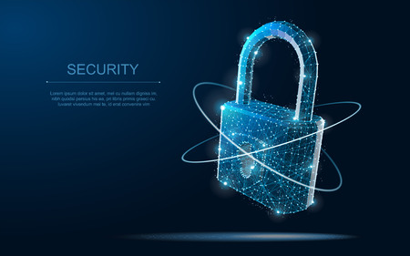 Security, safe, privacy or other concept illustration or background