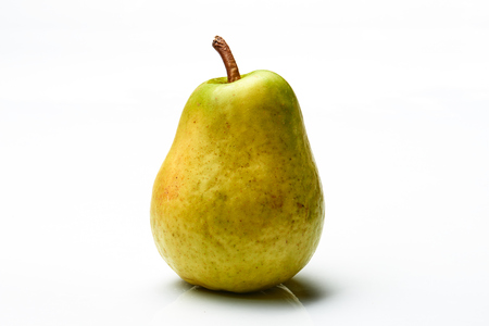 Beautiful pear isolated on the white background