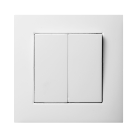 alternativ: Double light switch Stock Photo