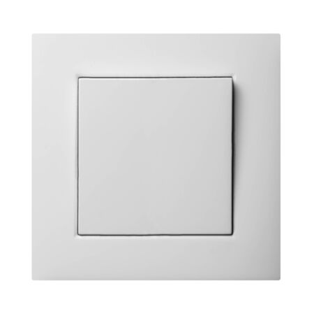 light switch isolated Stock Photo