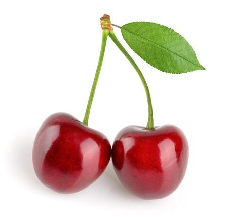 cherry: cherries isolated