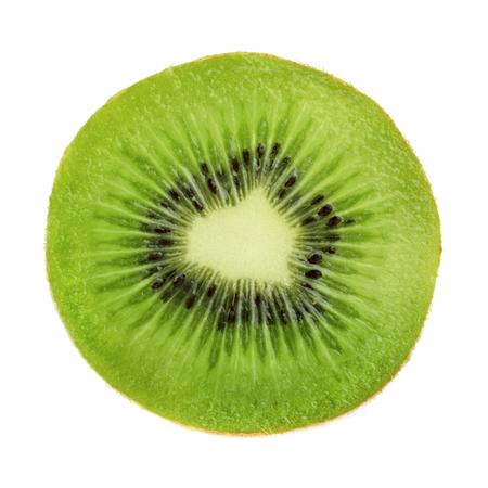 Kiwi slice isolated Reklamní fotografie