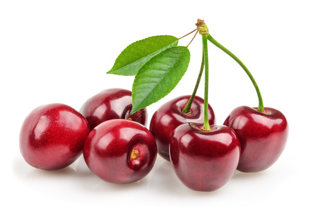 cherries isolated
