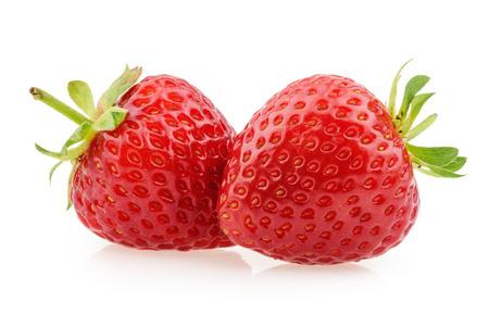strawberries: Strawberries isolated