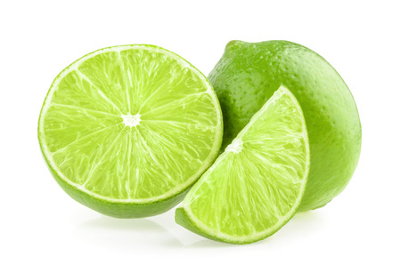 Lime isolated photo