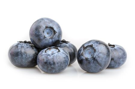 blueberry isolated on white background