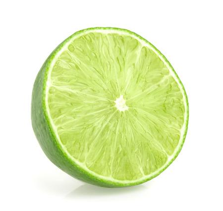 lime slices isolated Reklamní fotografie