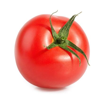 Tomatoe isolated on white Stock Photo