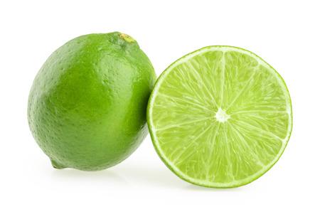 Lime geïsoleerde Stockfoto - 41456730