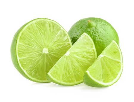 segment: Lime isolated