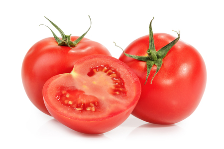 Tomatoes isolated on white Reklamní fotografie