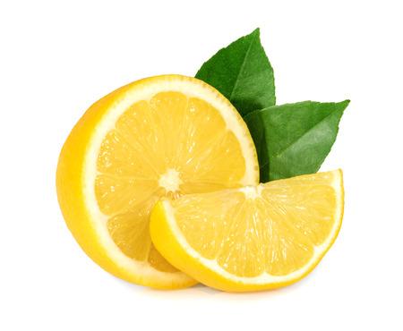 Limón aislado  Foto de archivo - 48802488