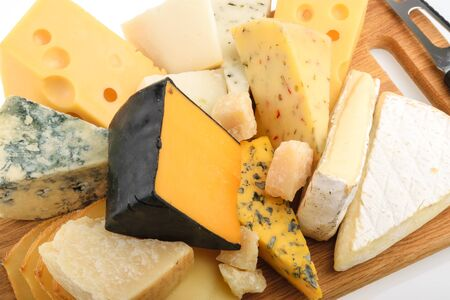 chees: Various types of cheese