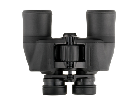 Binoculars isolated on white background without shadow