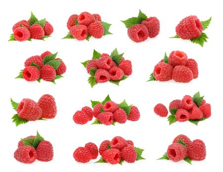 Raspberries isolated on white background Reklamní fotografie