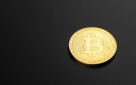 cryptocurrency coin, bitcoin, concept of electronic money