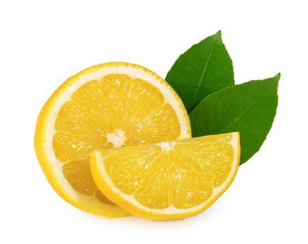 Lemon isolated on white background Stock fotó