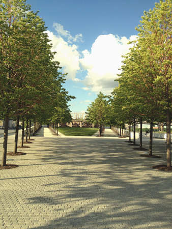 South View of Four Freedoms Park