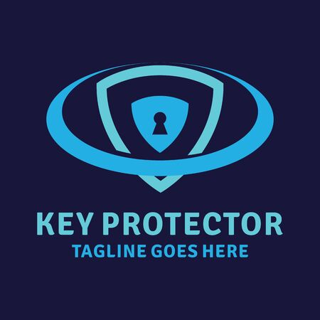Key Protector Logo Design Inspiration For Business And Company