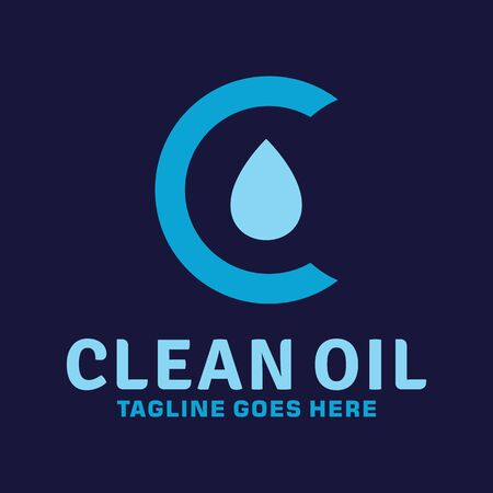 Clean Oil Logo Design Inspiration For Business And Company