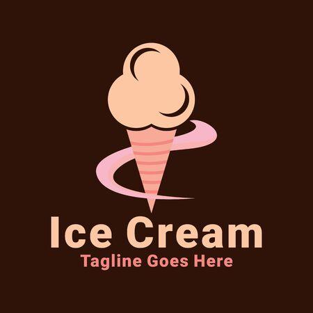Ice Cream Logo Design Inspiration For Business And Company