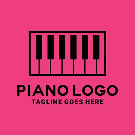 Piano Logo Design Inspiration For Business And Company