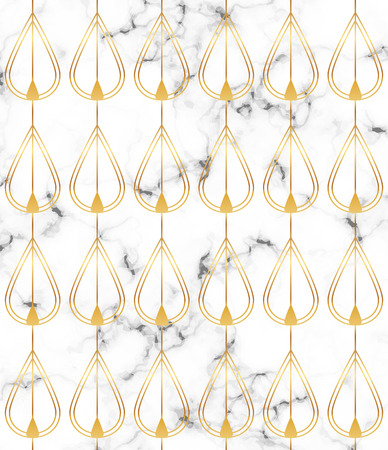 White marble texture with golden lines pattern. Background for designs banner, card, flyer, invitation, party, birthday, wedding, placard, save the date