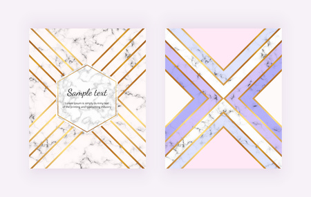 Pastel colors triangles shapes. Trendy birthday card, birthday card, brochure, banner, layout, card, flyer, website, social media