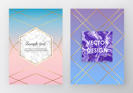 Marble gradient backgrounds. Trendy design for flyer, invitation card, banner, wedding, placard, poster, layout, brochure, party, birthday