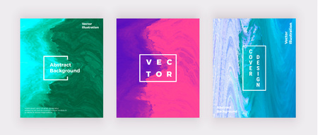 Covers liquid marble design. Blue, pink, purple creative fluid art. Modern background for invitation, wedding, placard, birthday, brochure, banner, cover, layout, card, flyer, presentation.