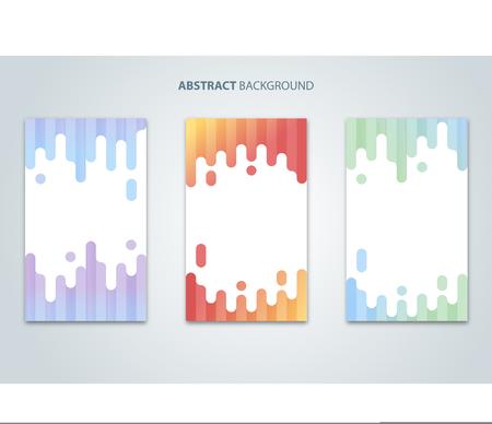 Abstract modern design background soft color good for social media post Çizim