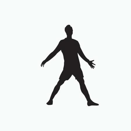 yes celebration - silhouette soccer goal celebration - shot, dribble, celebration and move in soccer