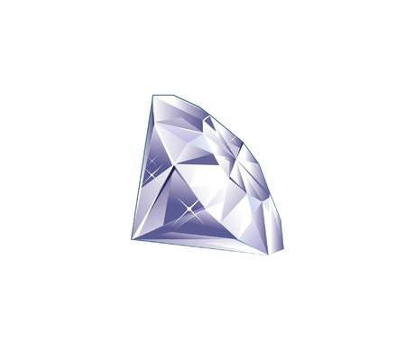 exuberance: diamond Illustration
