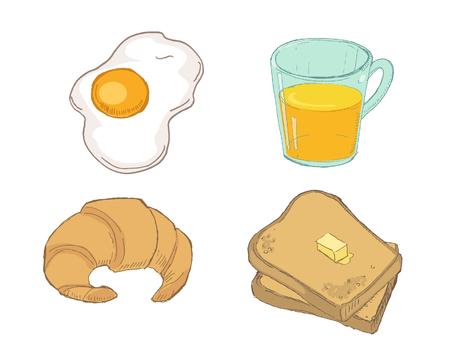 scrambled: Drawn Breakfast