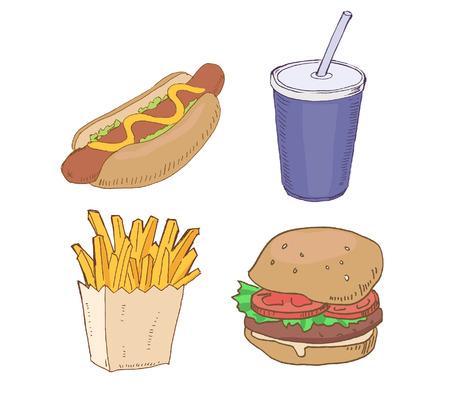 Drawn Fast Food