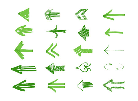 Drawn Arrows
