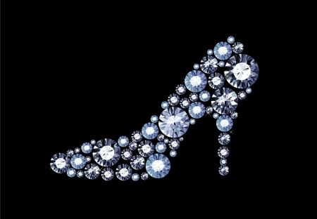 cinderella shoes: Gem Shoe